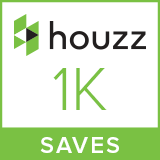 Houzz 1000 Saves Badge