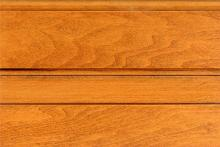 Maple Wood - Flax Stain - Honey Glaze